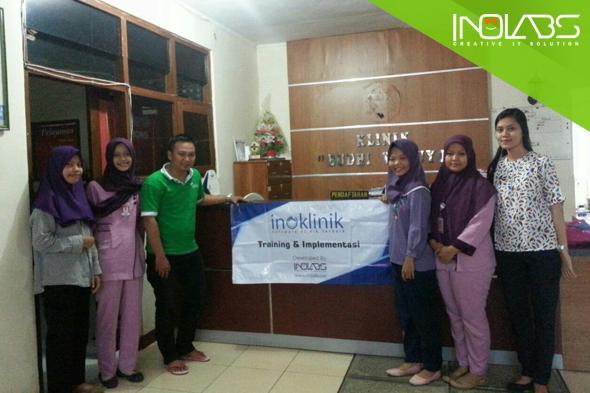 Training & Implementasi Sistem Inoklinik Di Klinik Pratama Budhi Waluyo