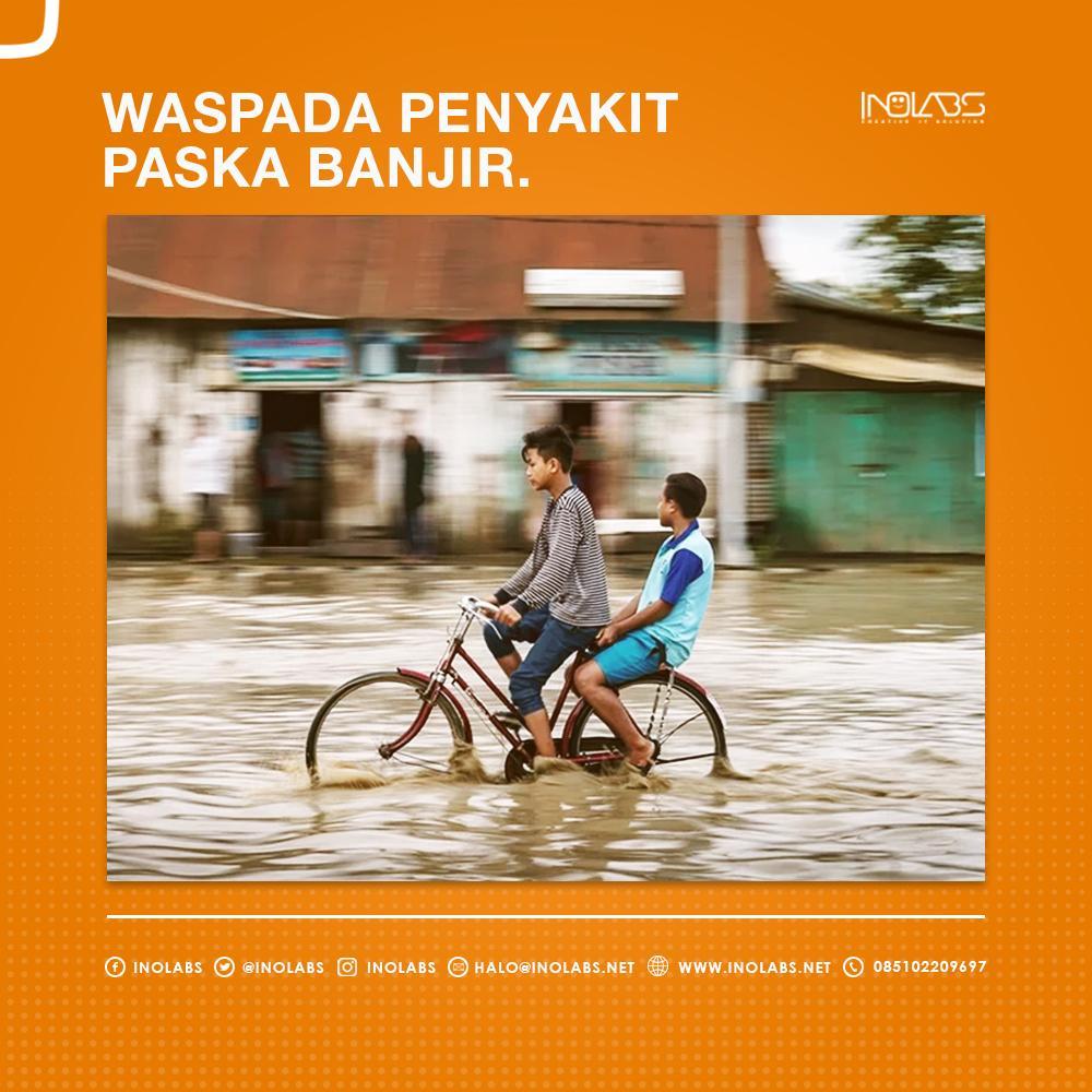 Waspada Penyakit Pasca Banjir