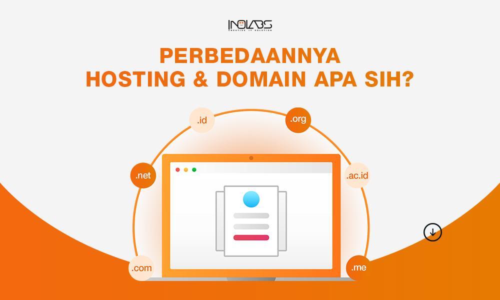 Perbedaan Hosting dan Domain
