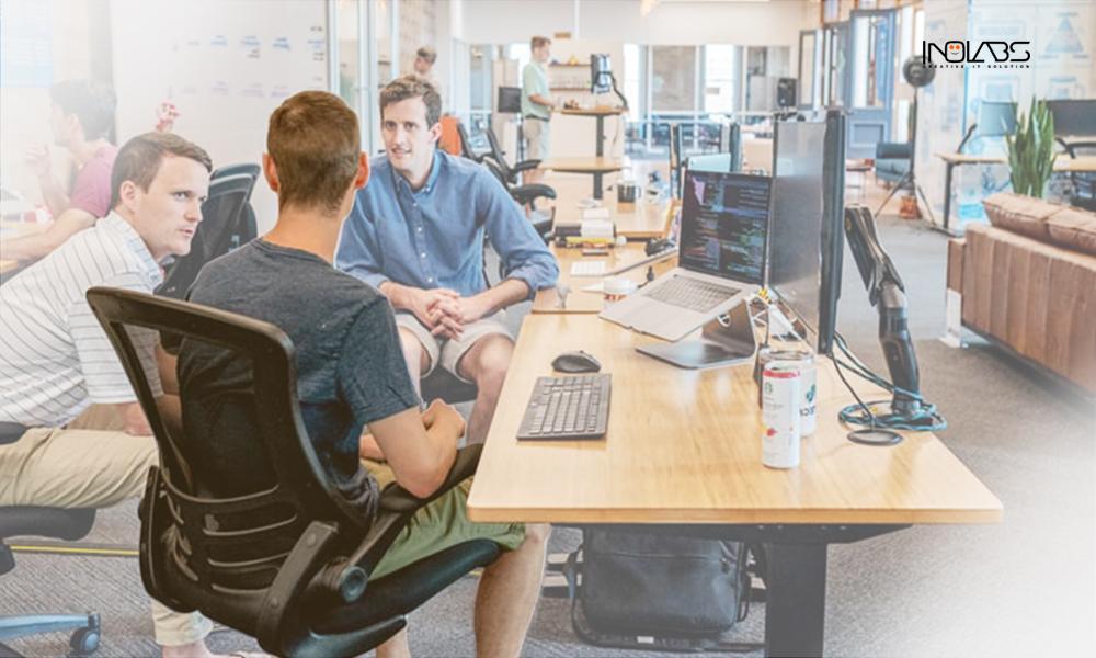 Serunya Kerja di Open Space Office