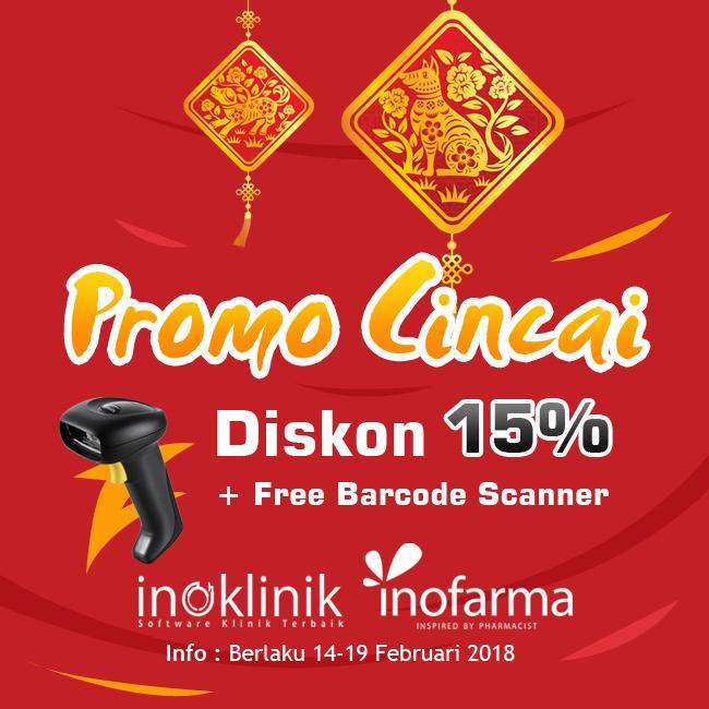Diskon 15% + Barcode Scanner