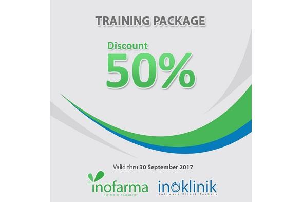 Promo : Discount 50% Training