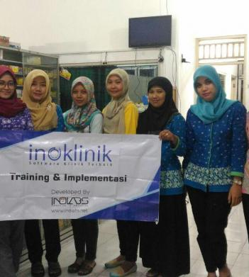 Training & Implementasi Sistem Inoklinik Di Klinik Chandra Barata