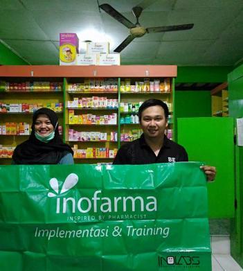 Training & Implementasi Sistem Inofarma di Apotek Raditya